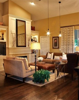 Inspiring Living Room Color Schemes Ideas Will Make Space Beautiful37