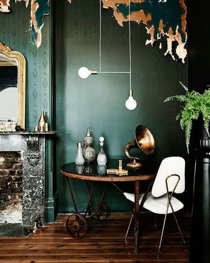Lovely Fall Emerald Home Decoration Ideas01