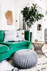 Lovely Fall Emerald Home Decoration Ideas15