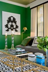 Lovely Fall Emerald Home Decoration Ideas25
