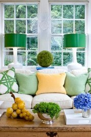 Lovely Fall Emerald Home Decoration Ideas38