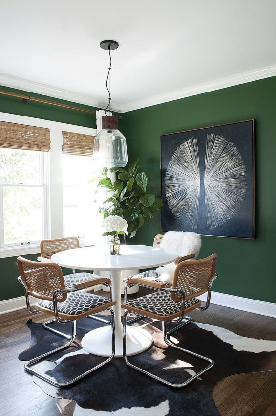 Lovely Fall Emerald Home Decoration Ideas46