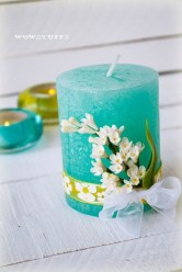Magnificient Decorated Candle Ideas09