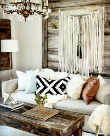 Modern Chic Farmhouse Living Room Design Decor Ideas Home07