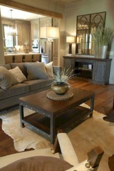 Modern Chic Farmhouse Living Room Design Decor Ideas Home11