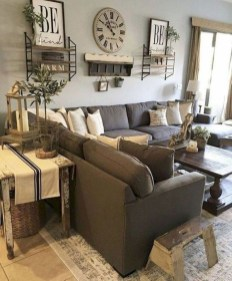 Modern Chic Farmhouse Living Room Design Decor Ideas Home36