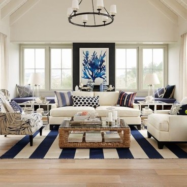 Perfect Coastal Living Room Ideas15