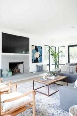 Perfect Coastal Living Room Ideas16