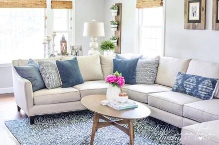 Perfect Coastal Living Room Ideas43