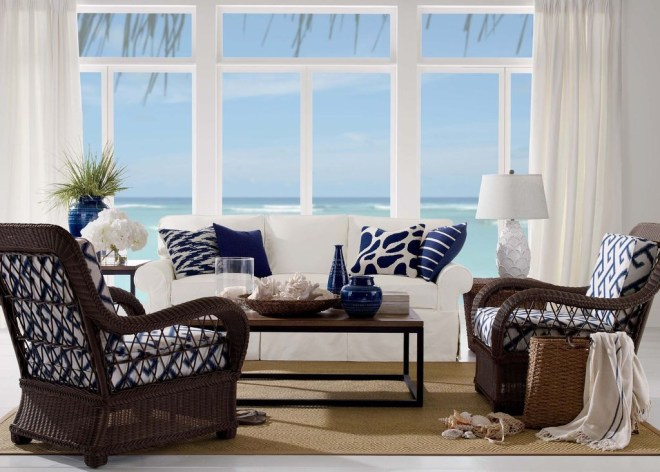 Perfect Coastal Living Room Ideas46