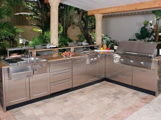 Perfect Outdoor Kitchen Ideas Make Guest Excited10