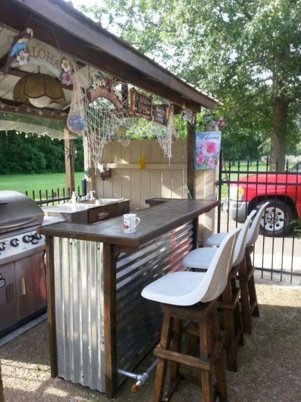 Perfect Outdoor Kitchen Ideas Make Guest Excited11