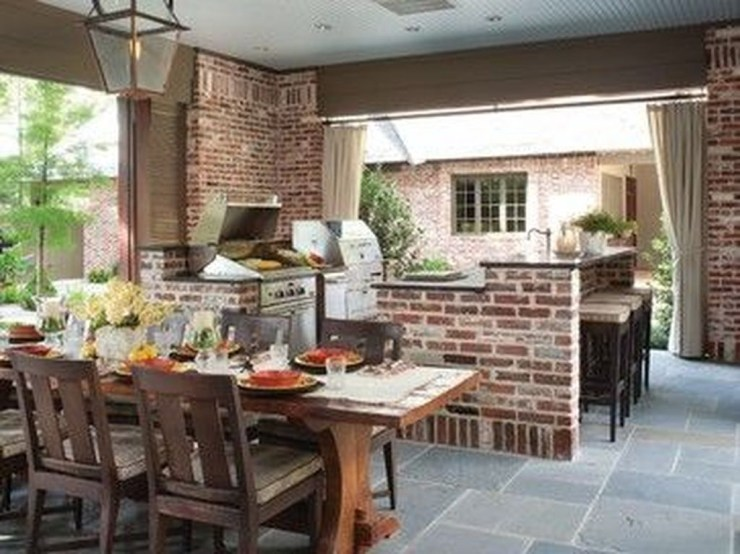 Perfect Outdoor Kitchen Ideas Make Guest Excited26