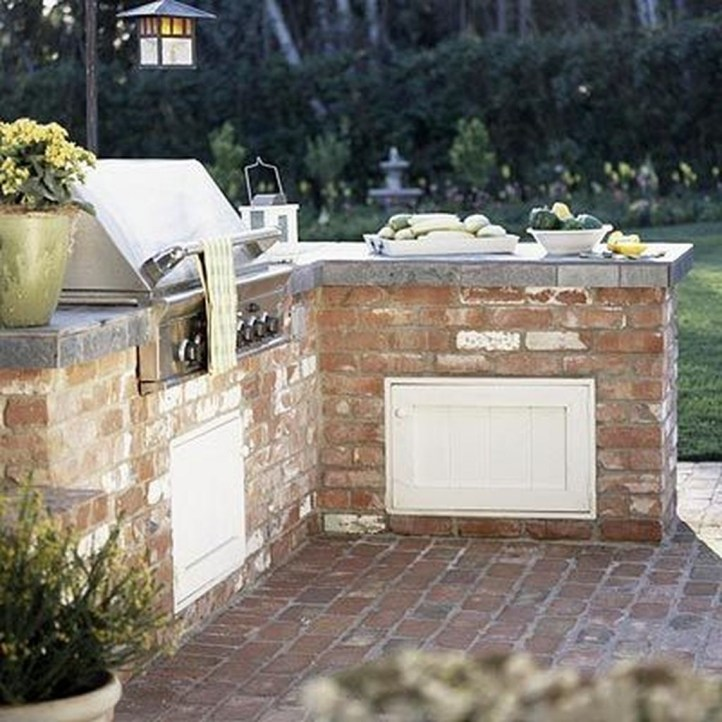 Perfect Outdoor Kitchen Ideas Make Guest Excited31