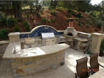 Perfect Outdoor Kitchen Ideas Make Guest Excited37