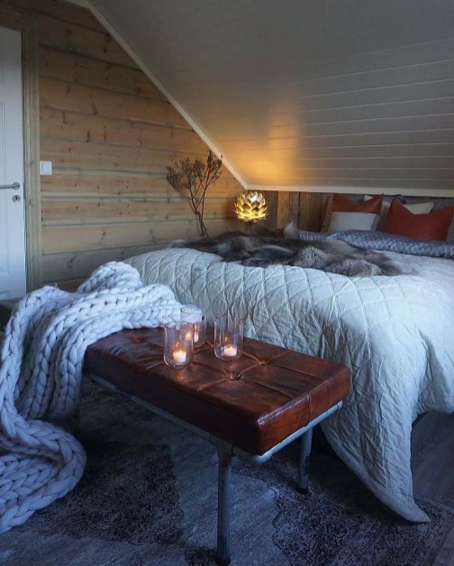 Perfect Winter Bedroom Decoration Ideas44