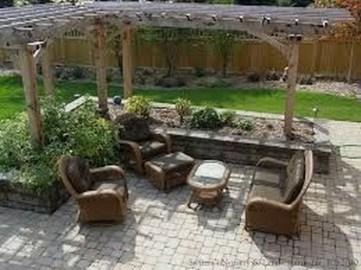 Pretty Grassless Backyard Landscaping Ideas04