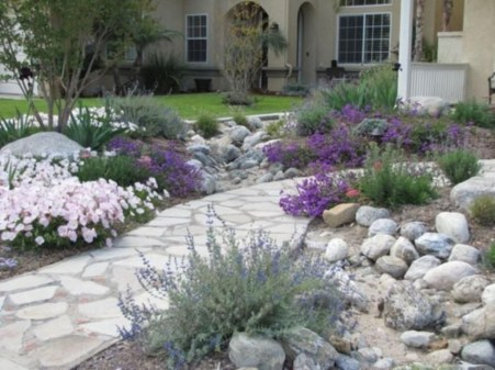 Pretty Grassless Backyard Landscaping Ideas08