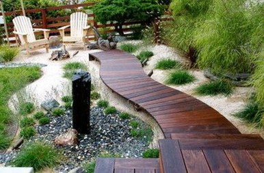 Pretty Grassless Backyard Landscaping Ideas11