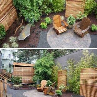 Pretty Grassless Backyard Landscaping Ideas14