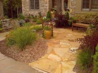 Pretty Grassless Backyard Landscaping Ideas24