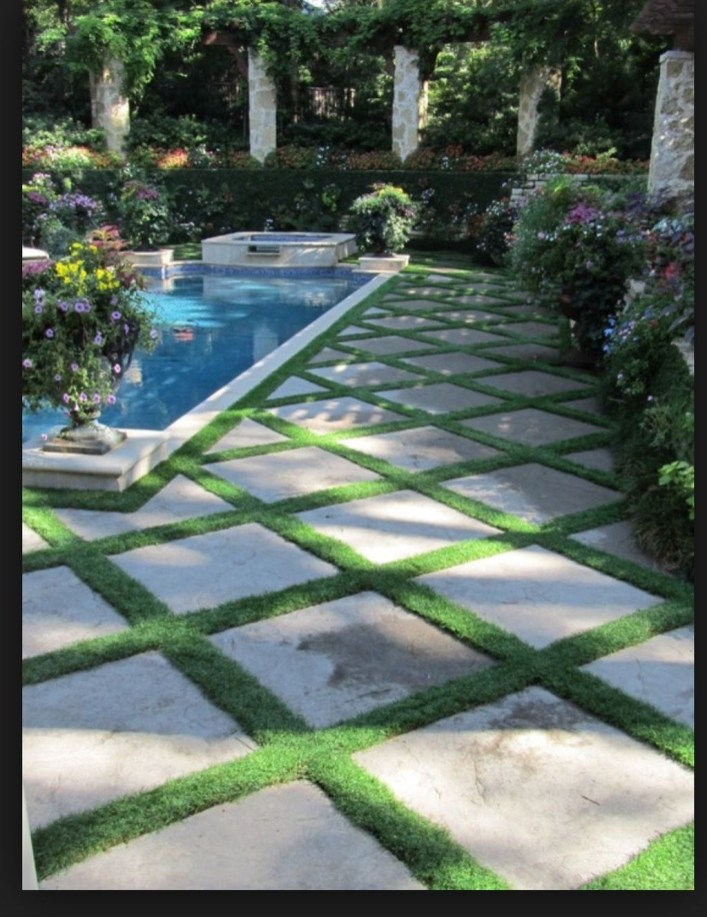 Pretty Grassless Backyard Landscaping Ideas31