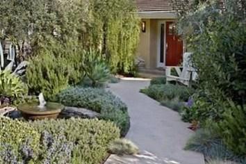 Pretty Grassless Backyard Landscaping Ideas45