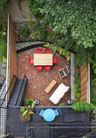 Pretty Grassless Backyard Landscaping Ideas47