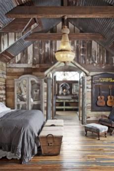 Romantic Rustic Farmhouse Bedroom Design And Decorations Ideas34