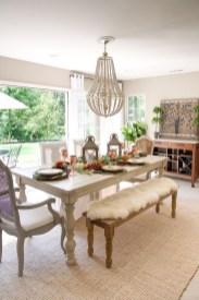 Stylish French Farmhouse Fall Table Design Ideas12