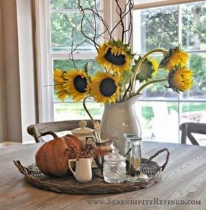 Stylish French Farmhouse Fall Table Design Ideas20