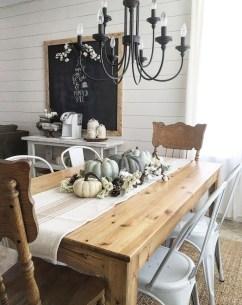 Stylish French Farmhouse Fall Table Design Ideas28