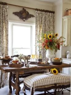 Stylish French Farmhouse Fall Table Design Ideas32