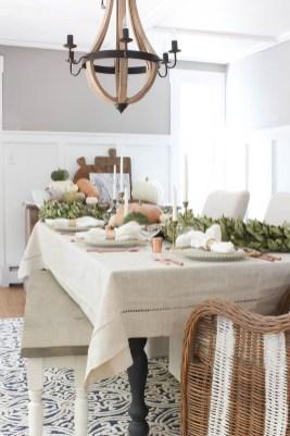 Stylish French Farmhouse Fall Table Design Ideas42