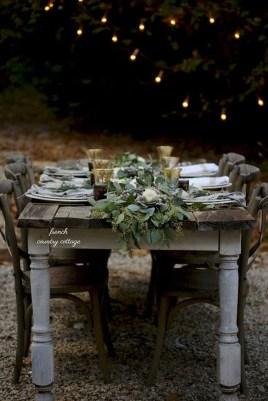 Stylish French Farmhouse Fall Table Design Ideas44