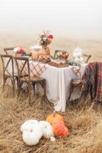 Stylish French Farmhouse Fall Table Design Ideas47