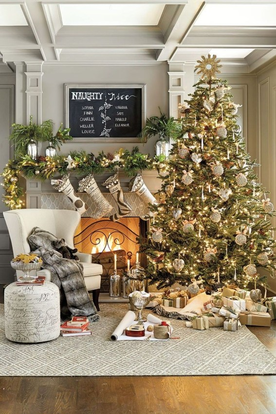 Amazing Decoration Your Small Space For Christmas41