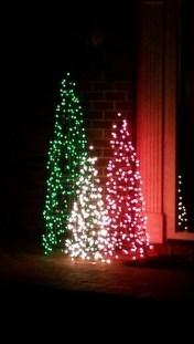 Amazing Outdoor Christmas Trees Ideas 22