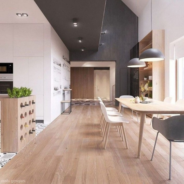 Best Ideas To Design Living Room With Kitchen Properly16