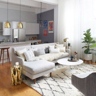Best Ideas To Design Living Room With Kitchen Properly26