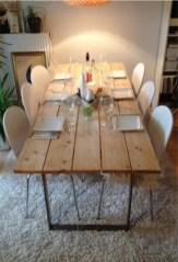 Comfy Diy Dining Table Ideas02