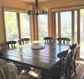 Comfy Diy Dining Table Ideas16