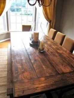 Comfy Diy Dining Table Ideas35