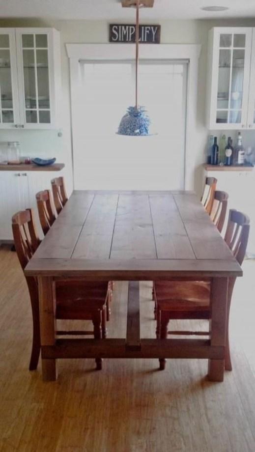 Comfy Diy Dining Table Ideas36
