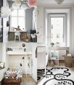 Cozy Scandinavian Kids Rooms Designs Ideas02