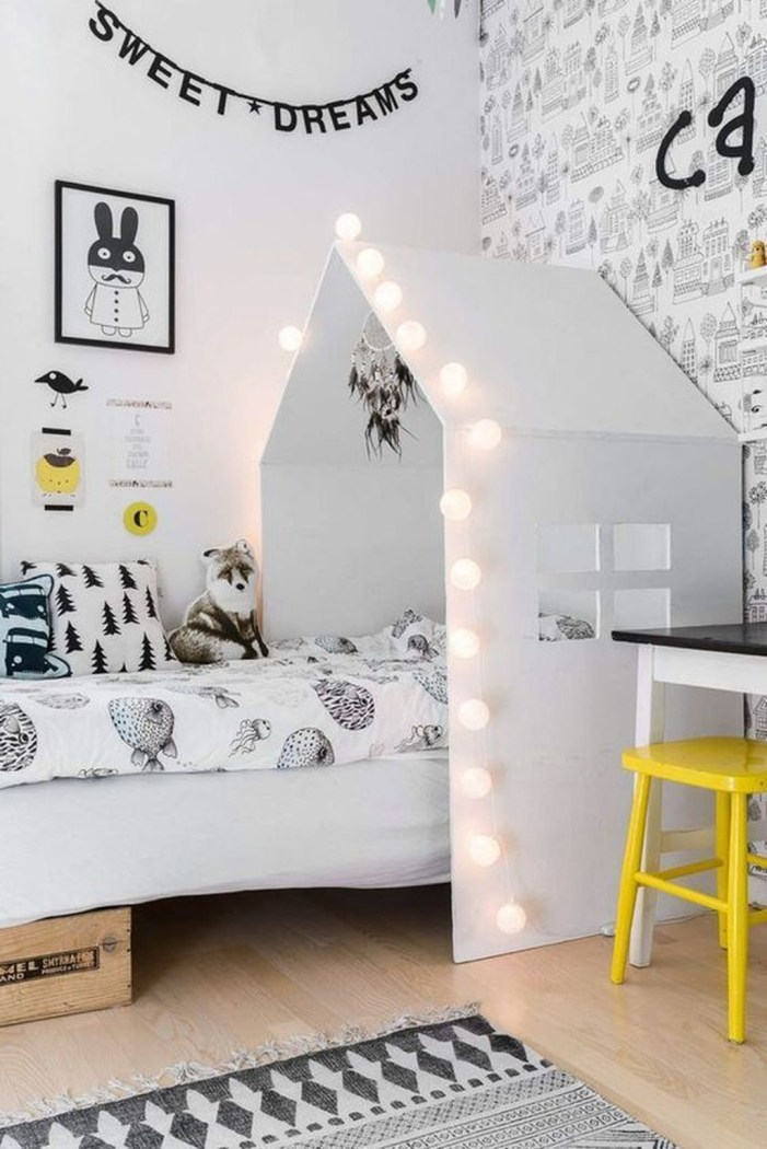 Cozy Scandinavian Kids Rooms Designs Ideas06