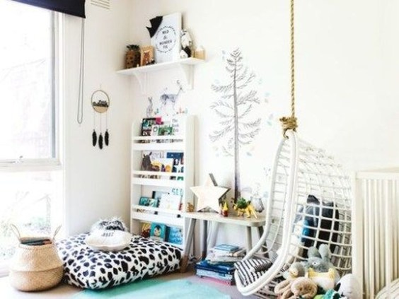 Cozy Scandinavian Kids Rooms Designs Ideas11