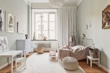 Cozy Scandinavian Kids Rooms Designs Ideas17