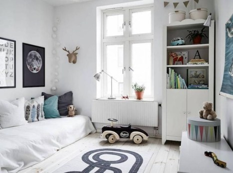 Cozy Scandinavian Kids Rooms Designs Ideas28