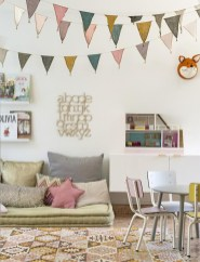 Cozy Scandinavian Kids Rooms Designs Ideas33